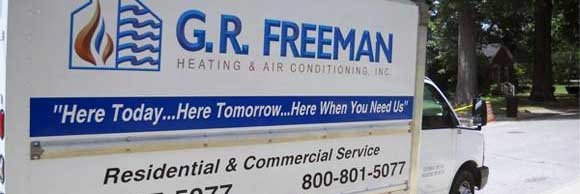 G. R. Freeman Heating & Air Conditioning, Inc. has Cooling repair trucks ready for your home in Princeton IN